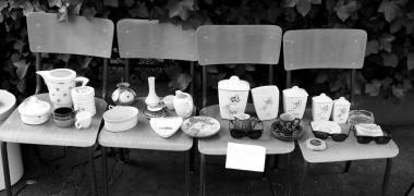 Le vide Greniers de la Butte Bergeyre par Bill Osuch